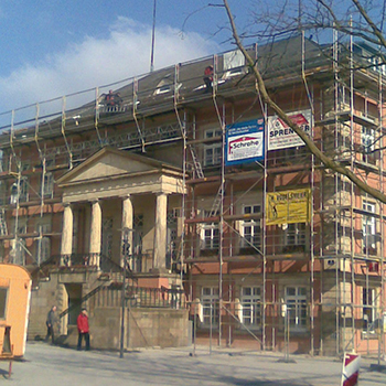 Sanierung Rathaus der Stadt Detmold